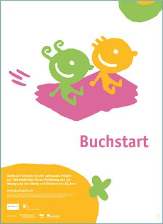 Buchstart-Plakat/e auf Deutsch