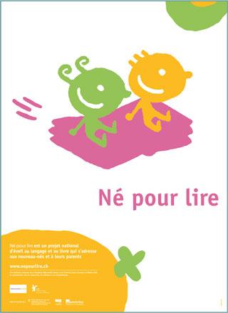 Affiche(s) Né pour lire en français