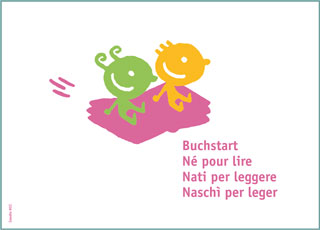 Cartes postales Né pour lire (10 pièces)
